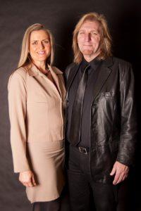 Tony Robinson and Kelly Robinson at the BBB Awards banquet